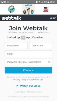 Webtalk link 2018 screenshot 1