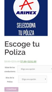Arimex Seguros screenshot 3