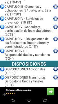 AUDIO LEY 31/1995 PREVENCIÓN DE RIESGOS LABORALES screenshot 2