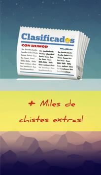 Avisos clasificados con humor poster