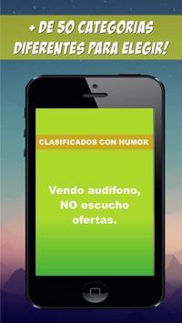 Avisos clasificados con humor screenshot 1