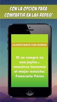 Avisos clasificados con humor screenshot 2