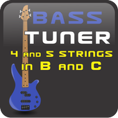 Bass Tuner 4 n 5 Strings icon