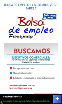 Bolsa de Trabajo Paraguay poster