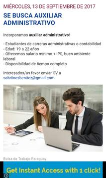 Bolsa de Trabajo Paraguay apk screenshot