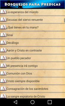 Bosquejos para Predicas apk screenshot