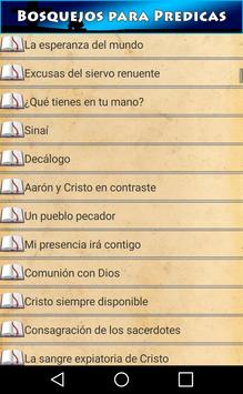 Bosquejos para Predicas screenshot 2
