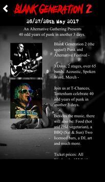 Blank Generation 2 Festival poster