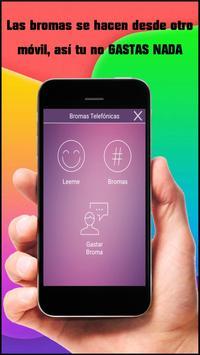 Bromas para celular apk screenshot