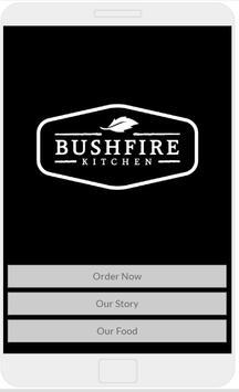 Bushfire Kitchen Order App poster