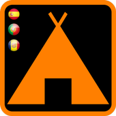 Camping Spain Portugal icon