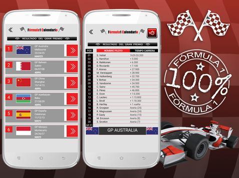 Fórmula Calendario 2018 apk screenshot