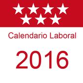 Calendario Laboral Madrid 2016 icon