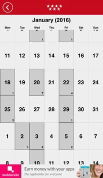Calendario Laboral Madrid 2016 apk screenshot