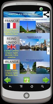 Capitales del Mundo screenshot 2