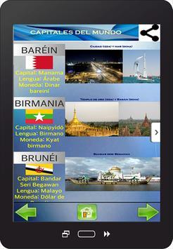 Capitales del Mundo screenshot 4