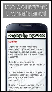 Proteger tu contraseña screenshot 2