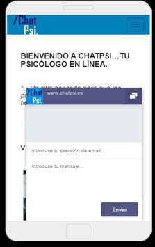 Psicología Chat Psi screenshot 3