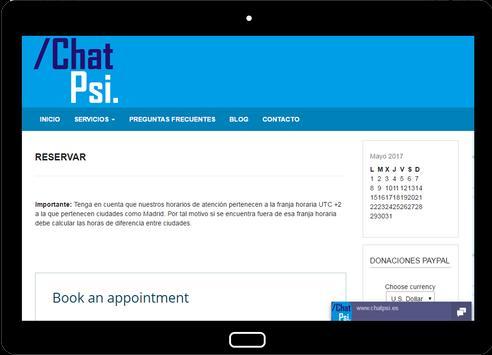 Psicología Chat Psi screenshot 10