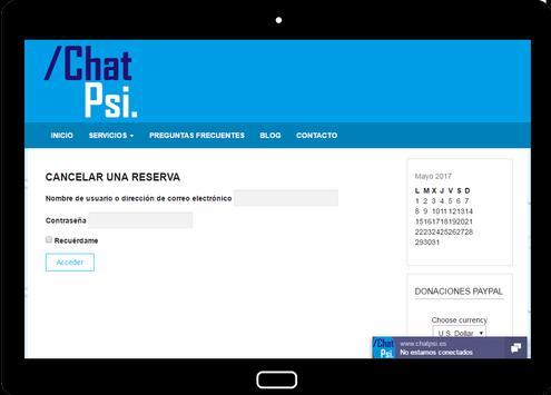 Psicología Chat Psi screenshot 11