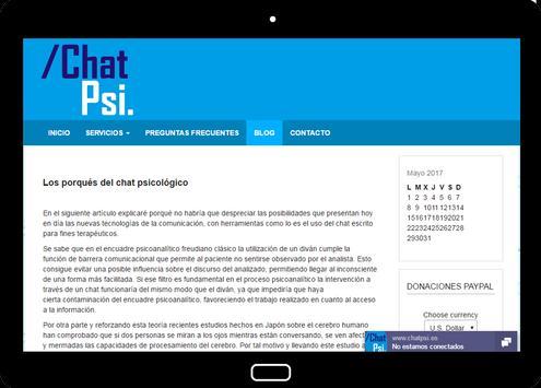 Psicología Chat Psi screenshot 13