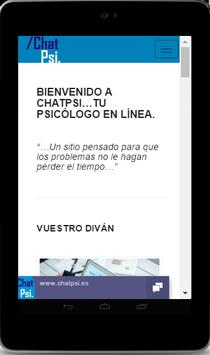Psicología Chat Psi screenshot 15