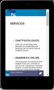 Psicología Chat Psi screenshot 18