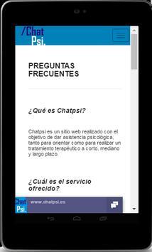 Psicología Chat Psi screenshot 21