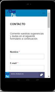 Psicología Chat Psi screenshot 22