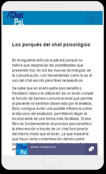 Psicología Chat Psi screenshot 7