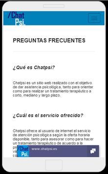 Psicología Chat Psi screenshot 6
