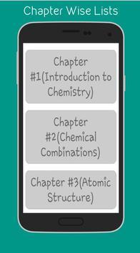 Chemistry (9th) apk screenshot
