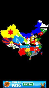 China flag map 스크린샷 3