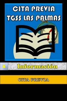 Cita previa TGSS Las Palmas poster
