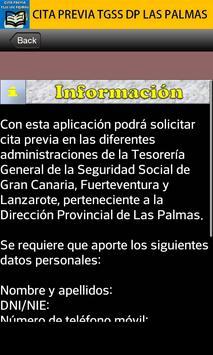 Cita previa TGSS Las Palmas apk screenshot