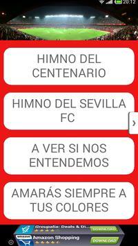 Cánticos Sevilla Fútbol poster