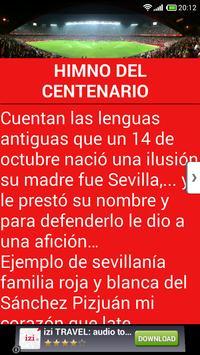 Cánticos Sevilla Fútbol screenshot 1