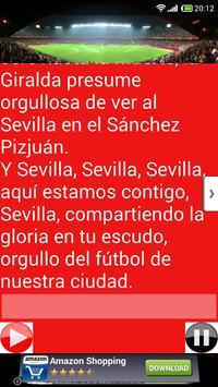 Cánticos Sevilla Fútbol screenshot 2