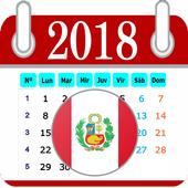 Calendario Perú 2018- Días Festivos icon