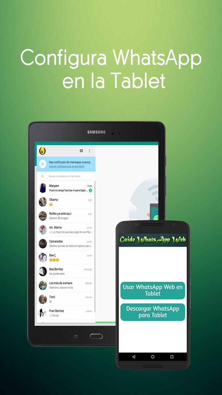 como usar whatsapp web con android