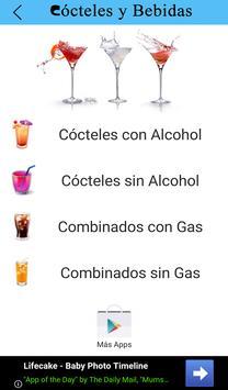 Cócteles y Bebidas screenshot 4