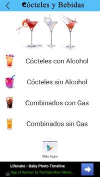 Cócteles y Bebidas poster