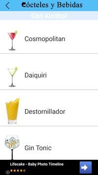Cócteles y Bebidas screenshot 1