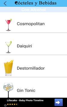 Cócteles y Bebidas screenshot 3