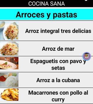 Cocina sana screenshot 1