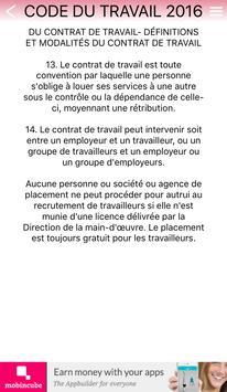 Code du Travail de Haiti 2016 apk screenshot