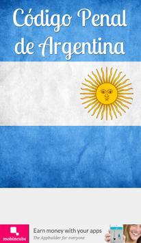 Código Penal de Argentina poster