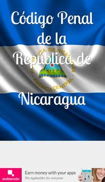 Código Penal de Nicaragua poster