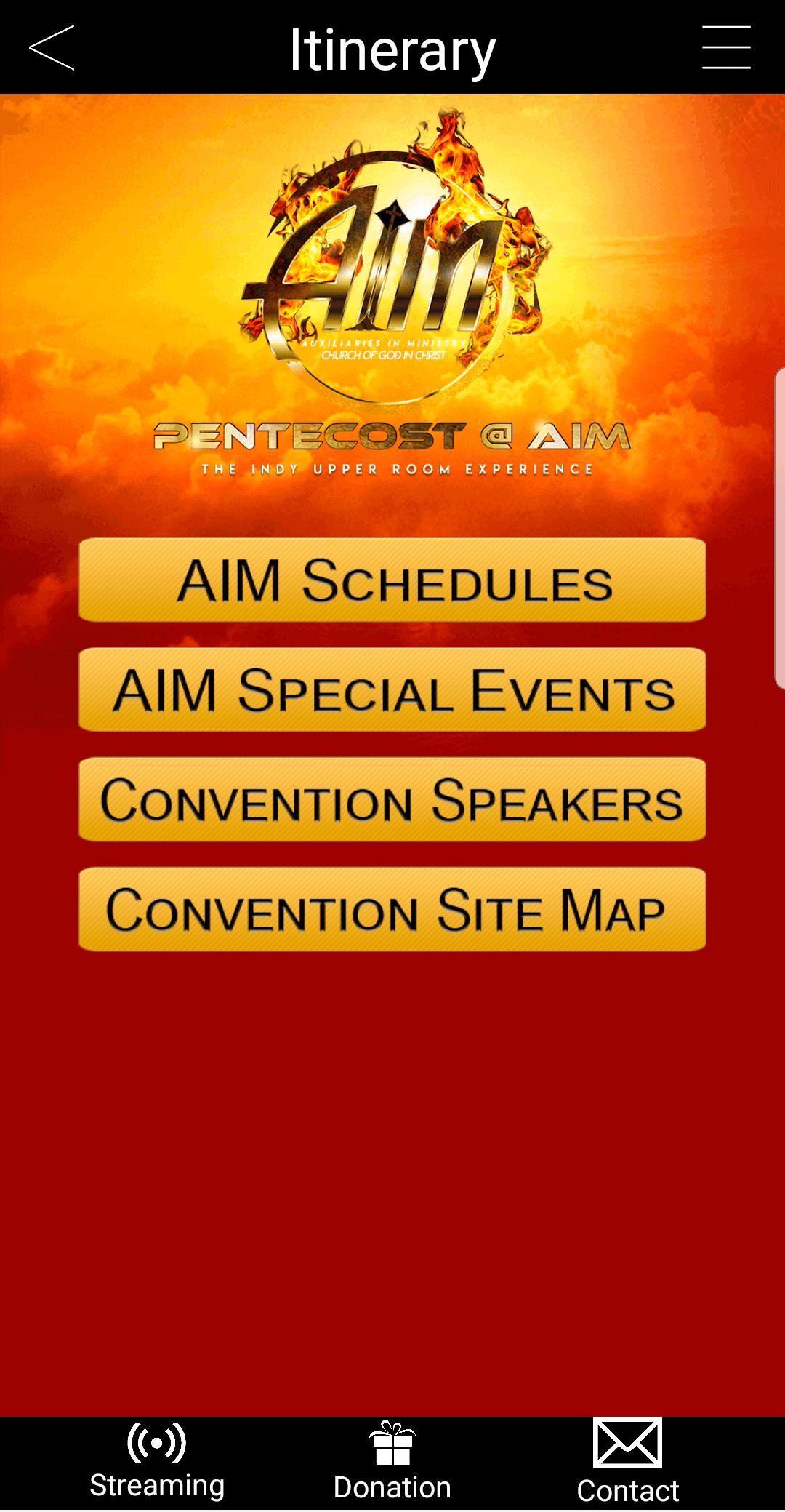 Cogic aim logo