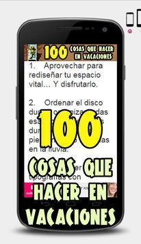 Que Hacer EN VACACIONES screenshot 1